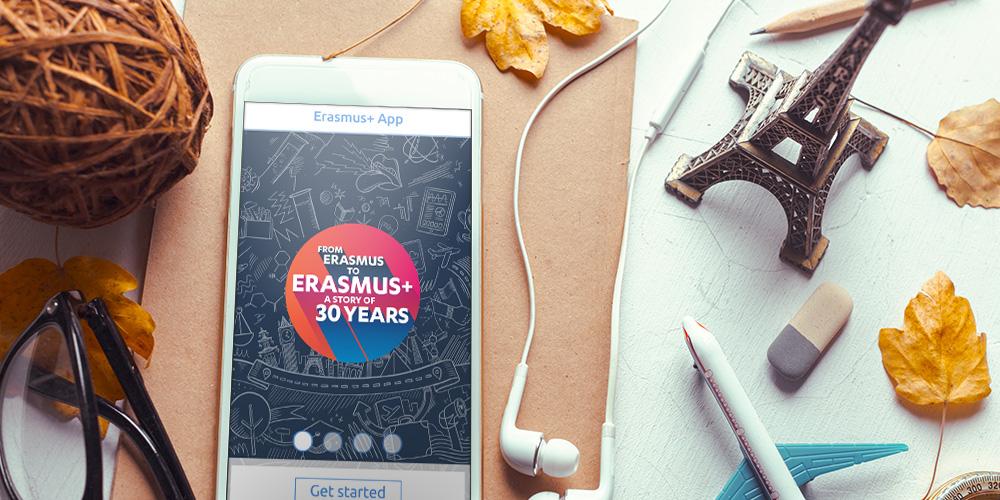Стартиране на мобилното приложение Erasmus +